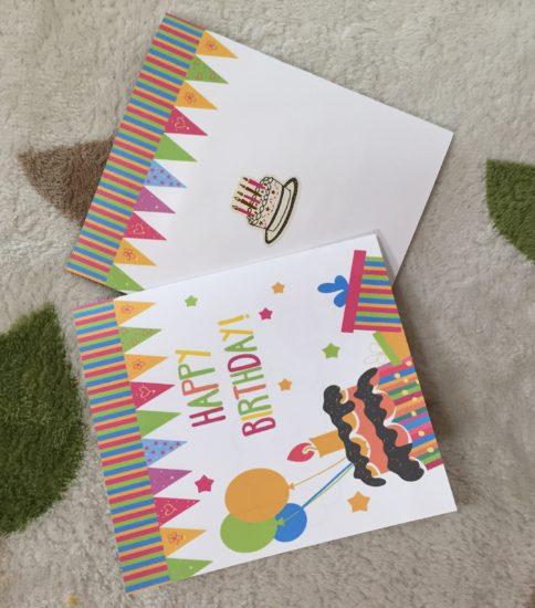 ベビーサインで1歳のお誕生日月にはバースデーカードをプレゼント♪
